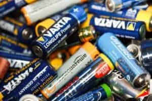 Batterien Entsorgen an Sammelstellen