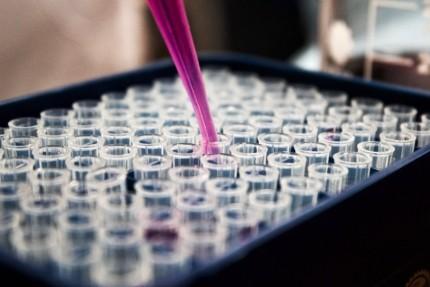 Chemikalien Probenentnahme für die Sondermüll Analyse